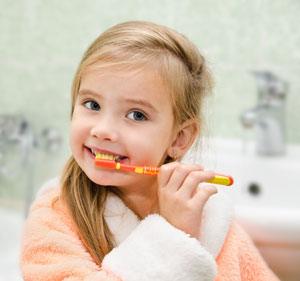Brushing Teeth - Pediatric Dentist in Silver Spring, MD