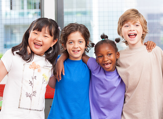 Group of kids - Pediatric Dentist in Silver Spring, MD
